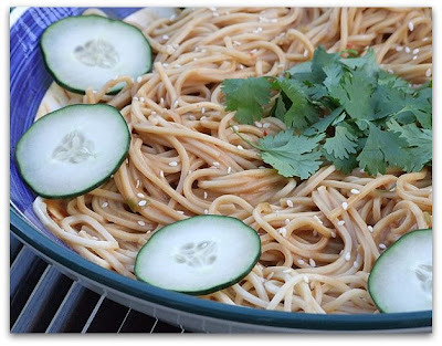 Tyler florences cold sesame noodles recipegirl on food network sometimes because hes just easy on the eyes and sometimes because hes making something droolworthy like these cold sesame noodles forumfinder Gallery
