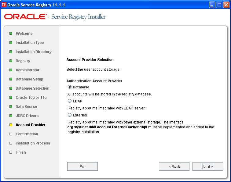 Learning SOA: Installing Oracle Service Registry (OSR) 11 1 1 2