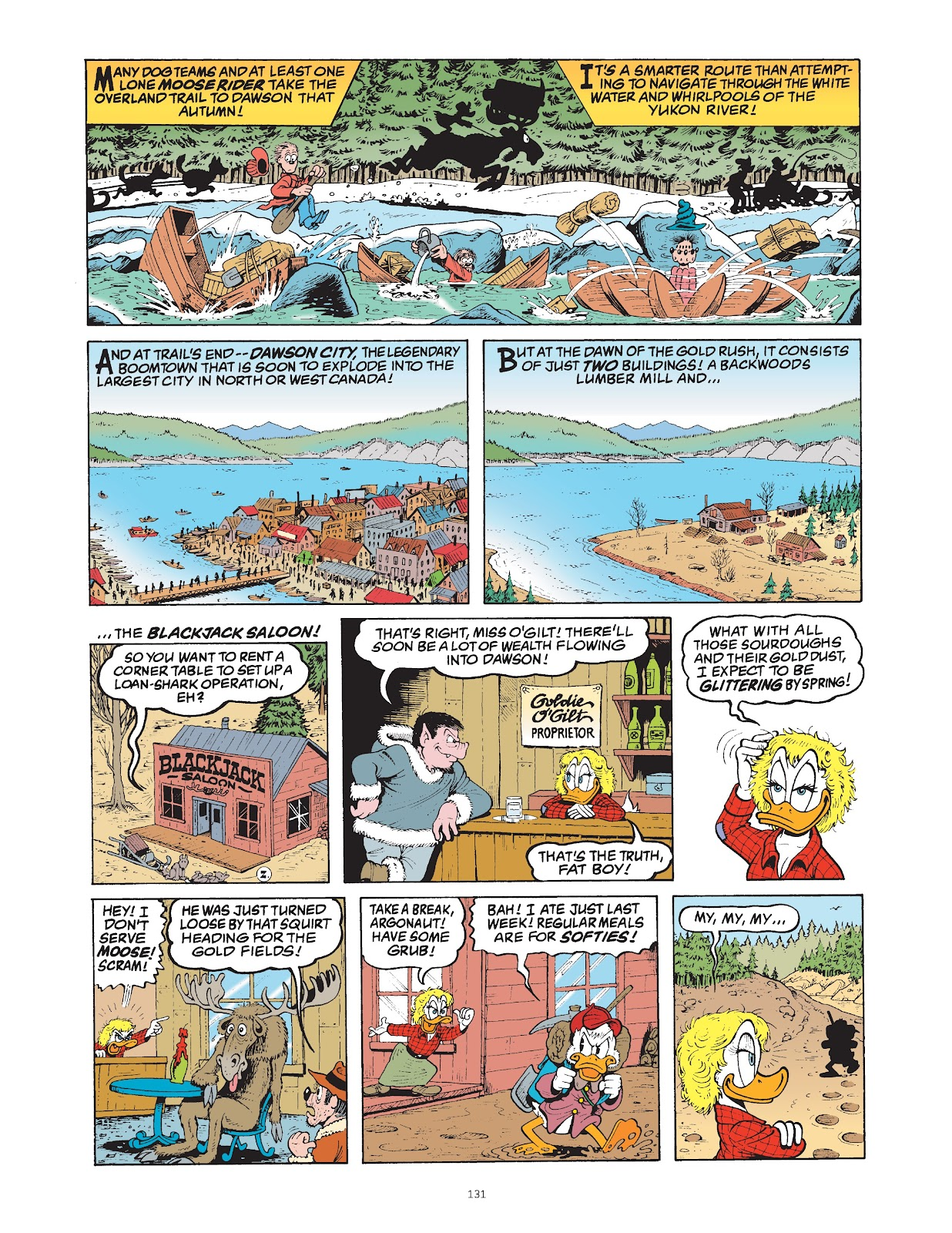 Read online The Complete Life and Times of Scrooge McDuck comic -  Issue # TPB 1 (Part 2) - 30