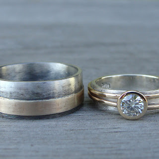recycled wedding set