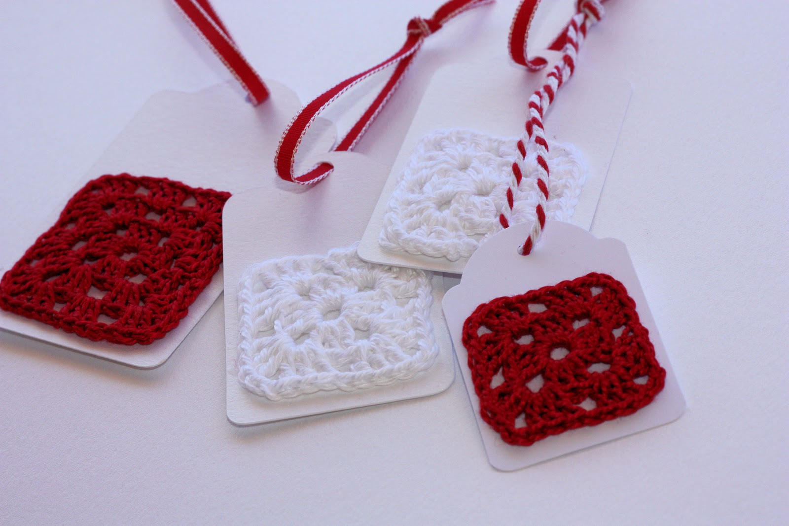 Quick Crochet Gift Tags