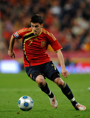 David Villa Playing Soccer | www.pixshark.com - Images ...