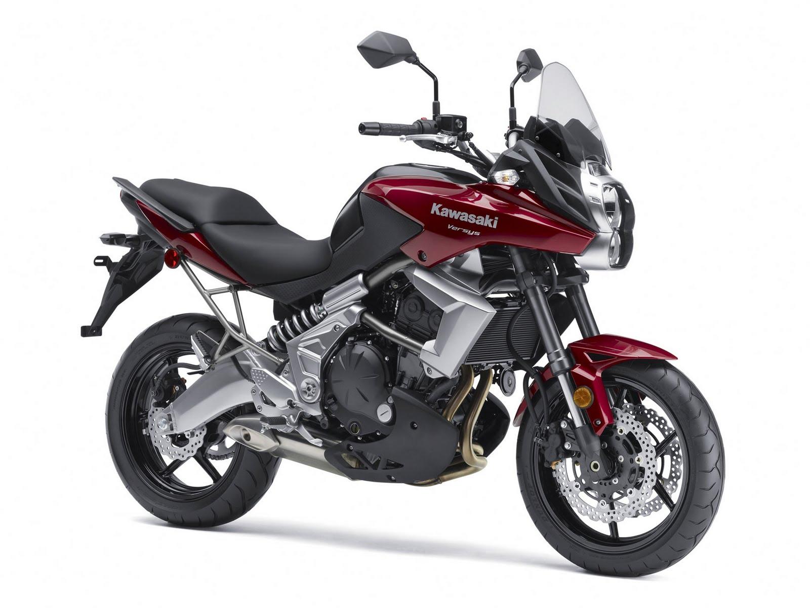 Top Motorcycle Wallpapers: 2011 Kawasaki Versys Motorcycle