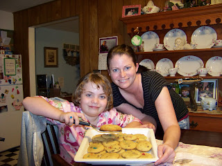 Chocolate Chip Cookies and Mom
