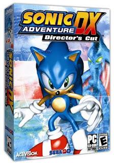ارض النار fire land: لعبه Sonic Adventure DX كامله