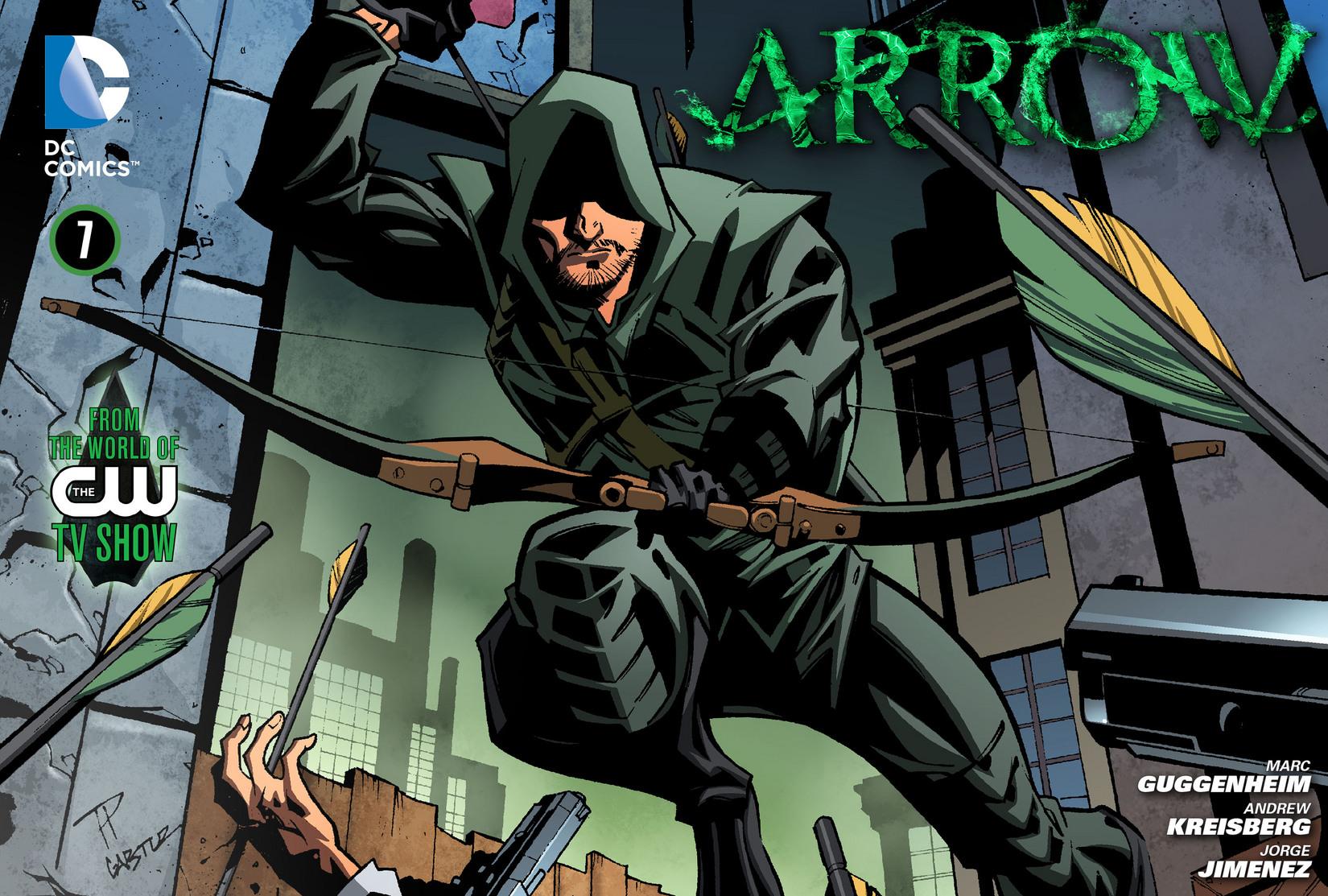 Read online Arrow [II] comic -  Issue #7 - 1