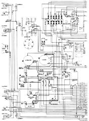 1976 Dodge Aspen wiring diagram of the electrical system