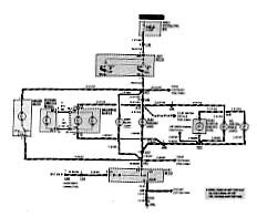Circuit and Wiring Diagram: 1992 BMW 325i Convertible