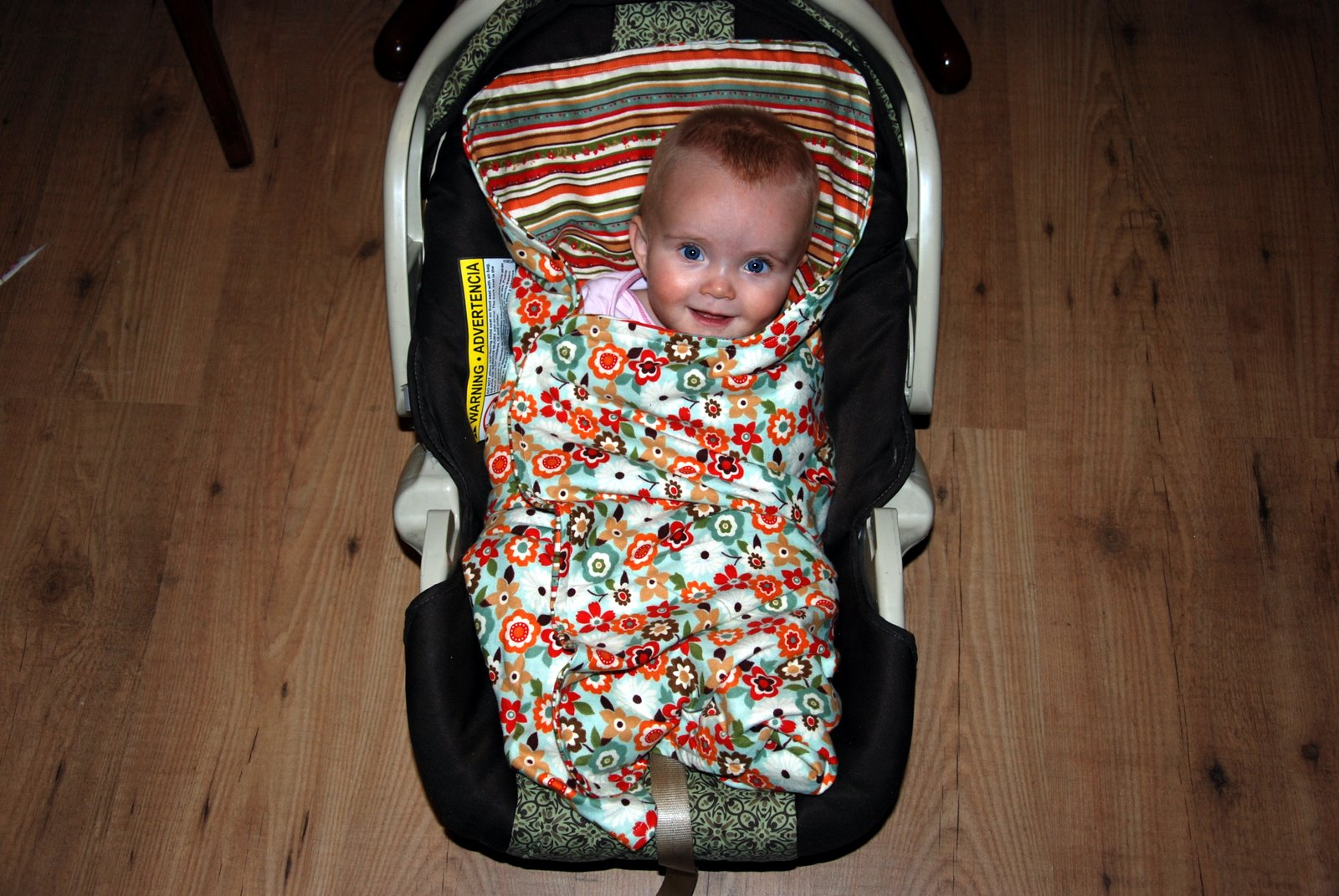 Trying It Out: Car Seat Blanket Tutorial