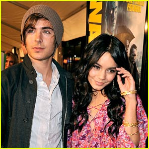 Zac Efron and Vanessa Hudgens break up