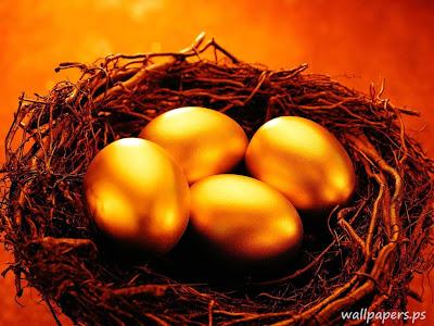 Forex gold background