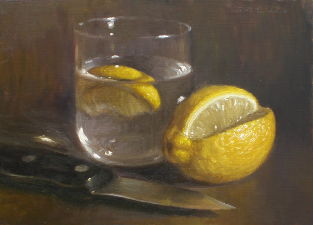 "Debbie's Art Space: ""Lemon Water"""