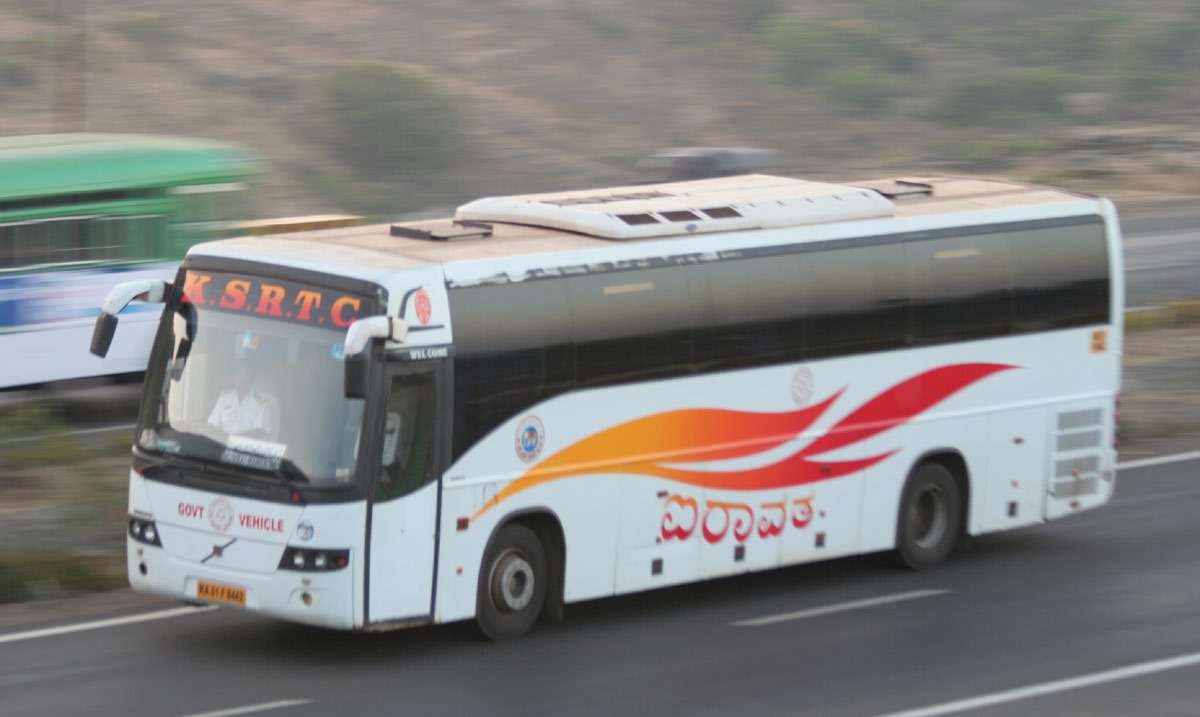 KSRTC's Mumbai(Borivali) to Bangalore Volvo bus to skip Pune city