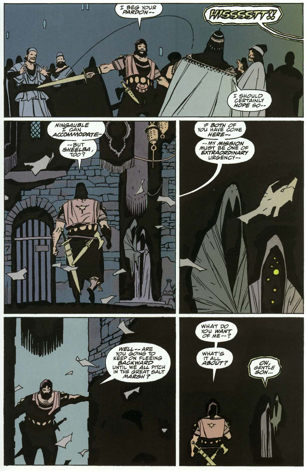 Read online Fafhrd and the Gray Mouser comic -  Issue #3 - 31