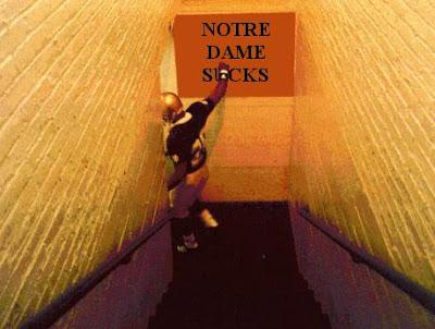 Notre Dame sucks