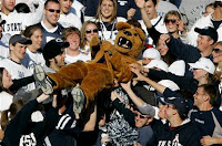 Penn State's mascot has a drinking problem