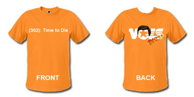 Time to die t-shirt