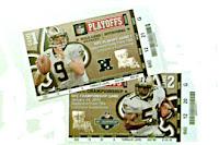 Saints playoff tickets