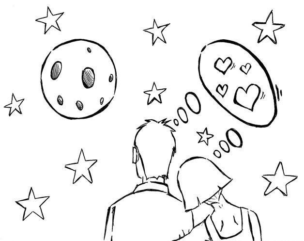 Desenhos Para O Dia Dos Namorados Desenho Para Colorir