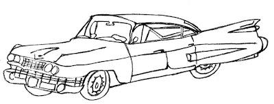 Desenho De Carro Antigo Colorir Figura Carro Pintar
