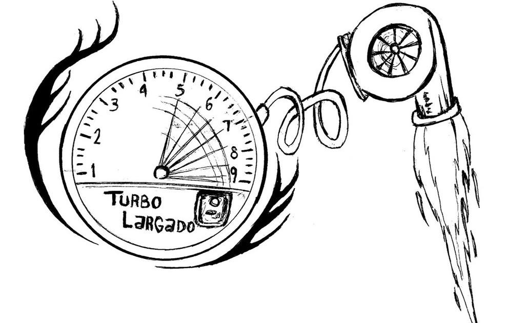 Turbo De Carro Desenho Para Colorir Turbo