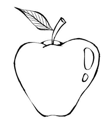 Fruta Colorir Desenhos E Risco De Frutas Para Colorir Desenhos