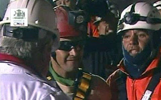 chilean miner rescued