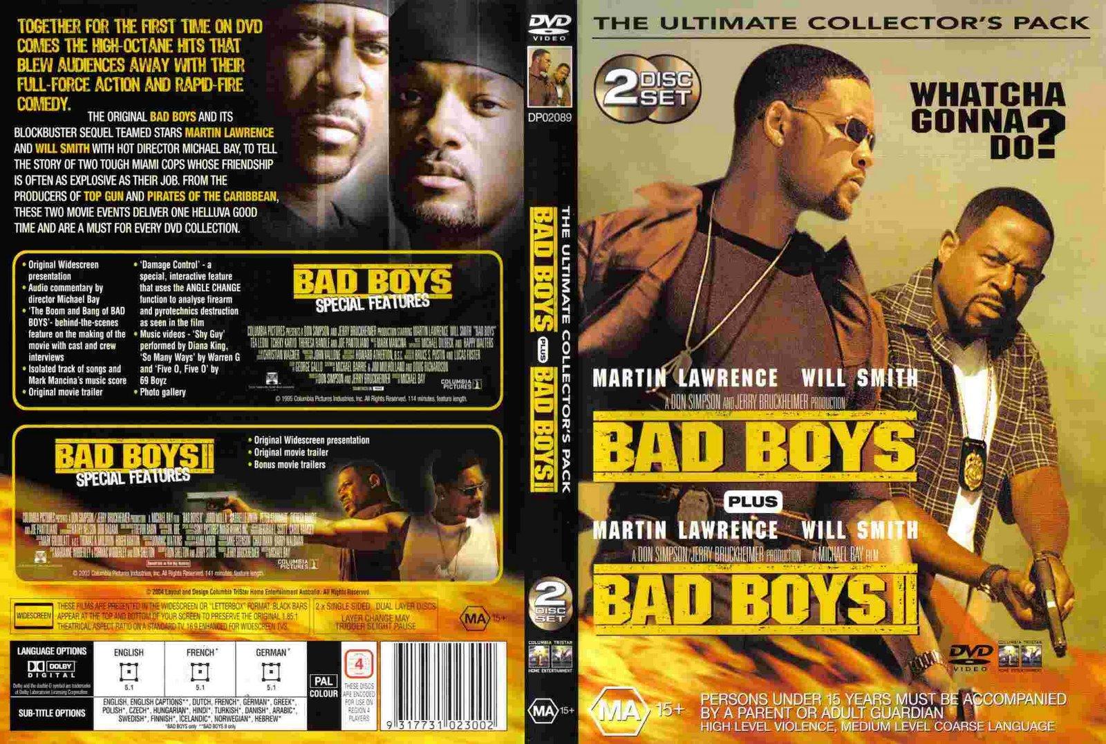 Bad Boys 3 Dvd