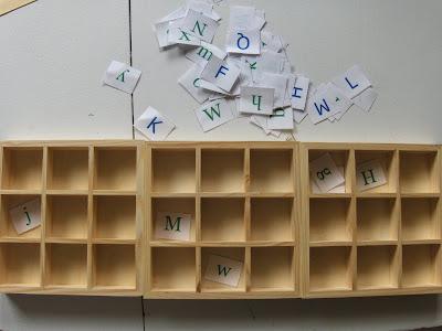 letter font sort