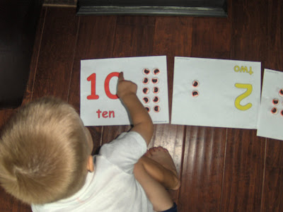 counting mats and erasers