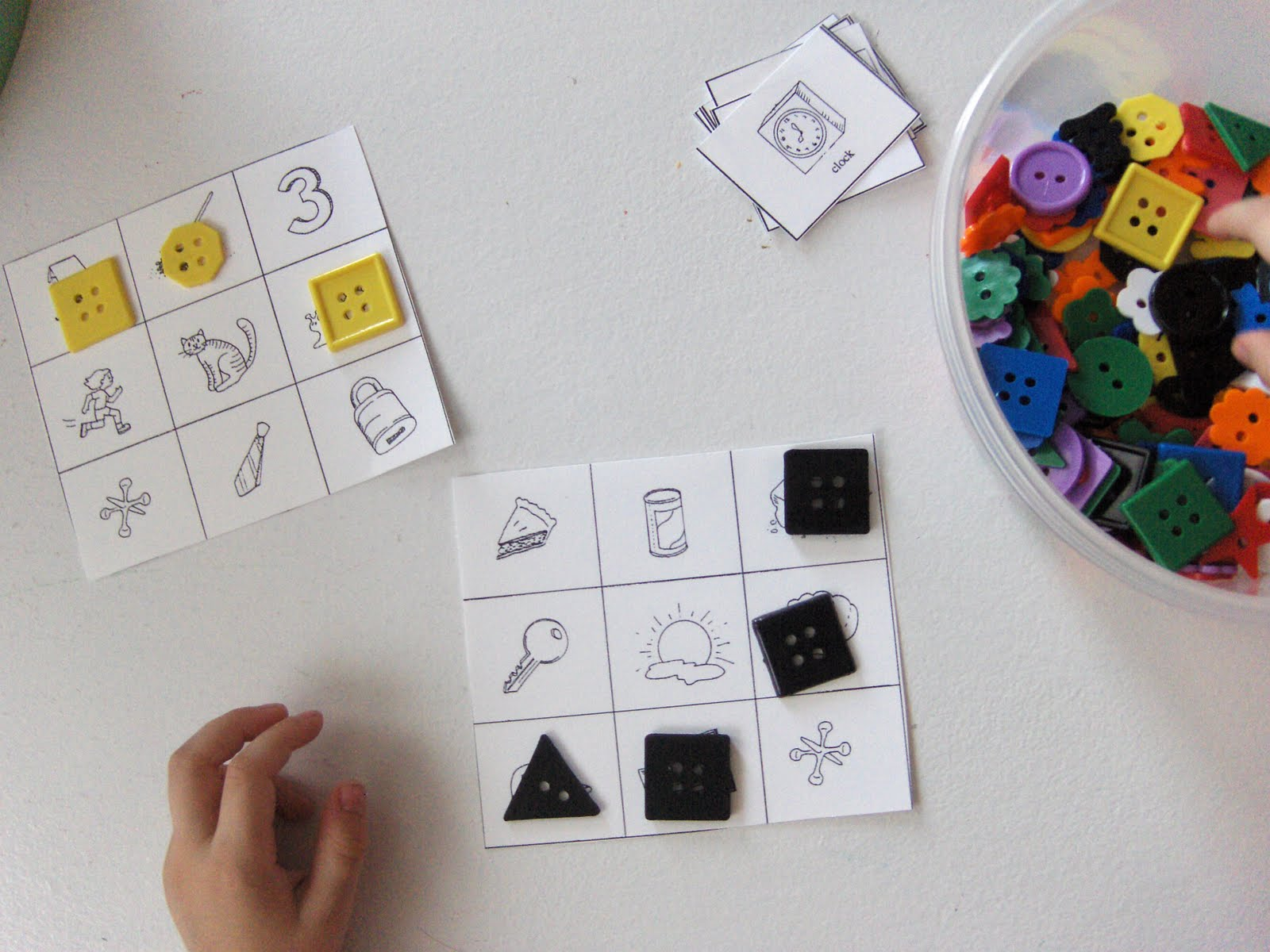Printable Sorting Cards Trials Ireland