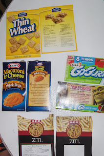 food packaging activities