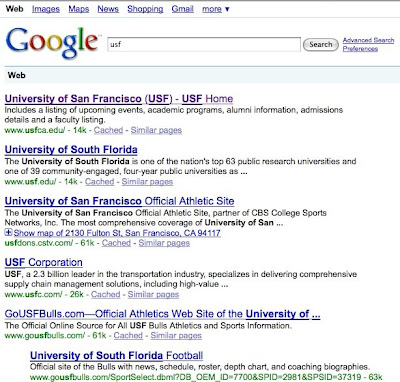 silver in sf when USF means university of san francisco