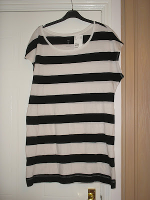 9be898d68ab19 Stripey tee/dress- H&M, love this for £2.99. Its really huge though, they  are meant to be oversized but still not that big!