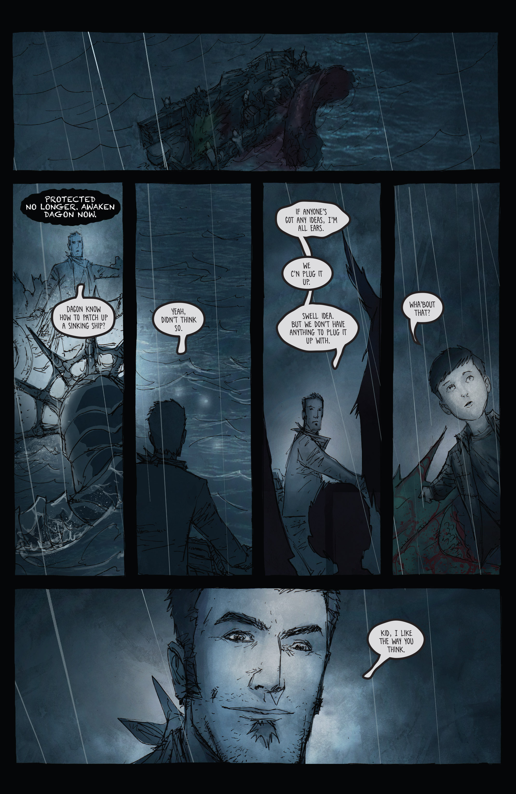 Read online Broken Moon: Legends of the Deep comic -  Issue #5 - 15