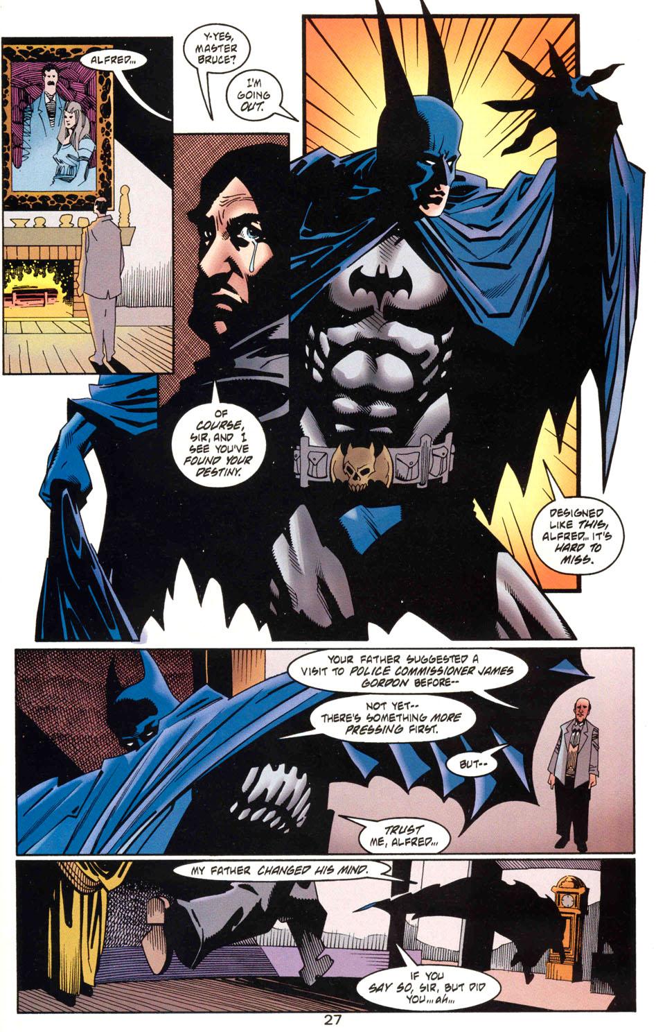 Read online Batman: Haunted Gotham comic -  Issue #1 - 29