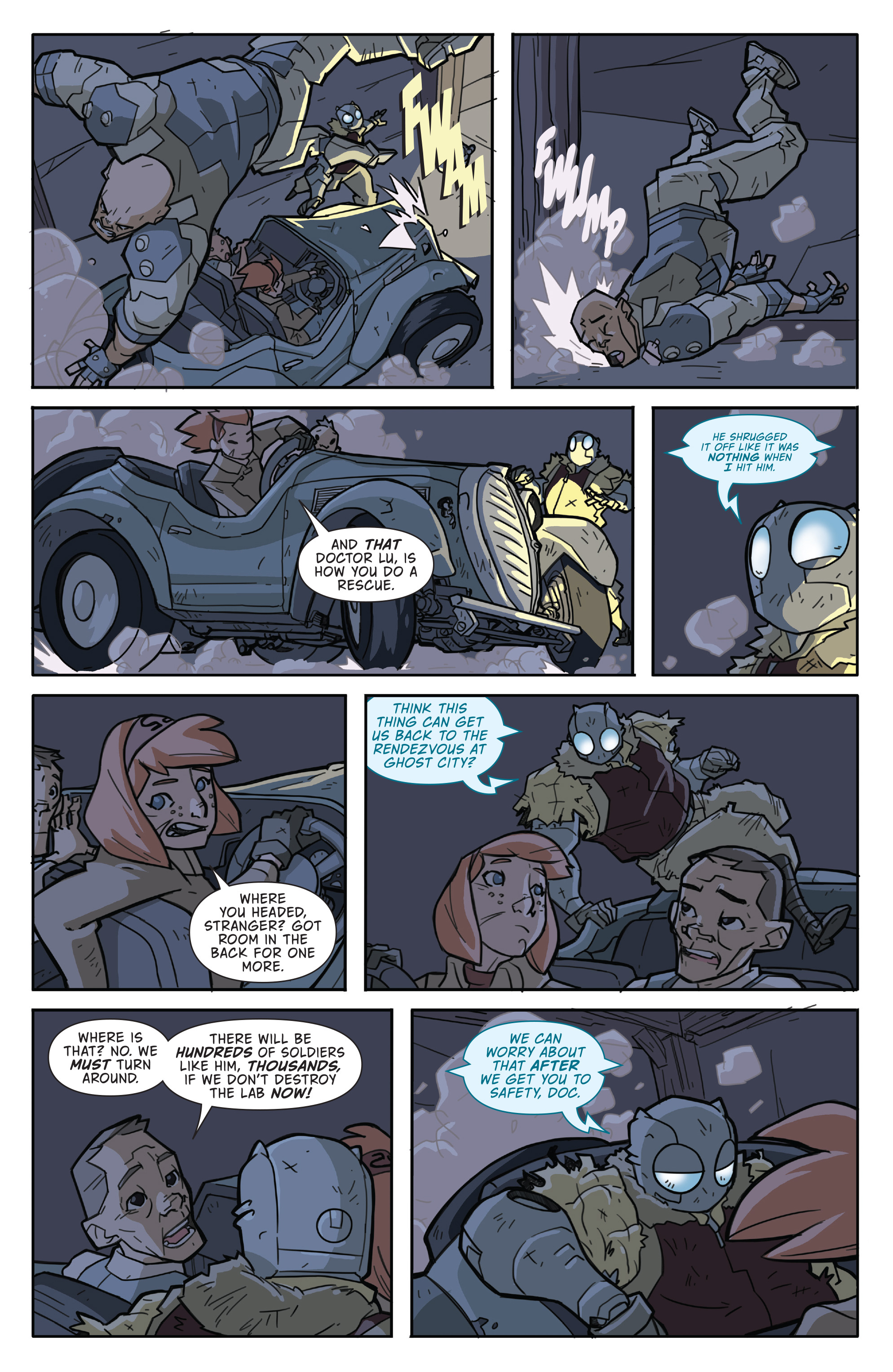 Read online Atomic Robo and the Temple of Od comic -  Issue #2 - 22