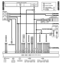 2001 SUBARU LEGACY WIRING DIAGRAM AND ENGINE ELECTRICAL SYSTEM