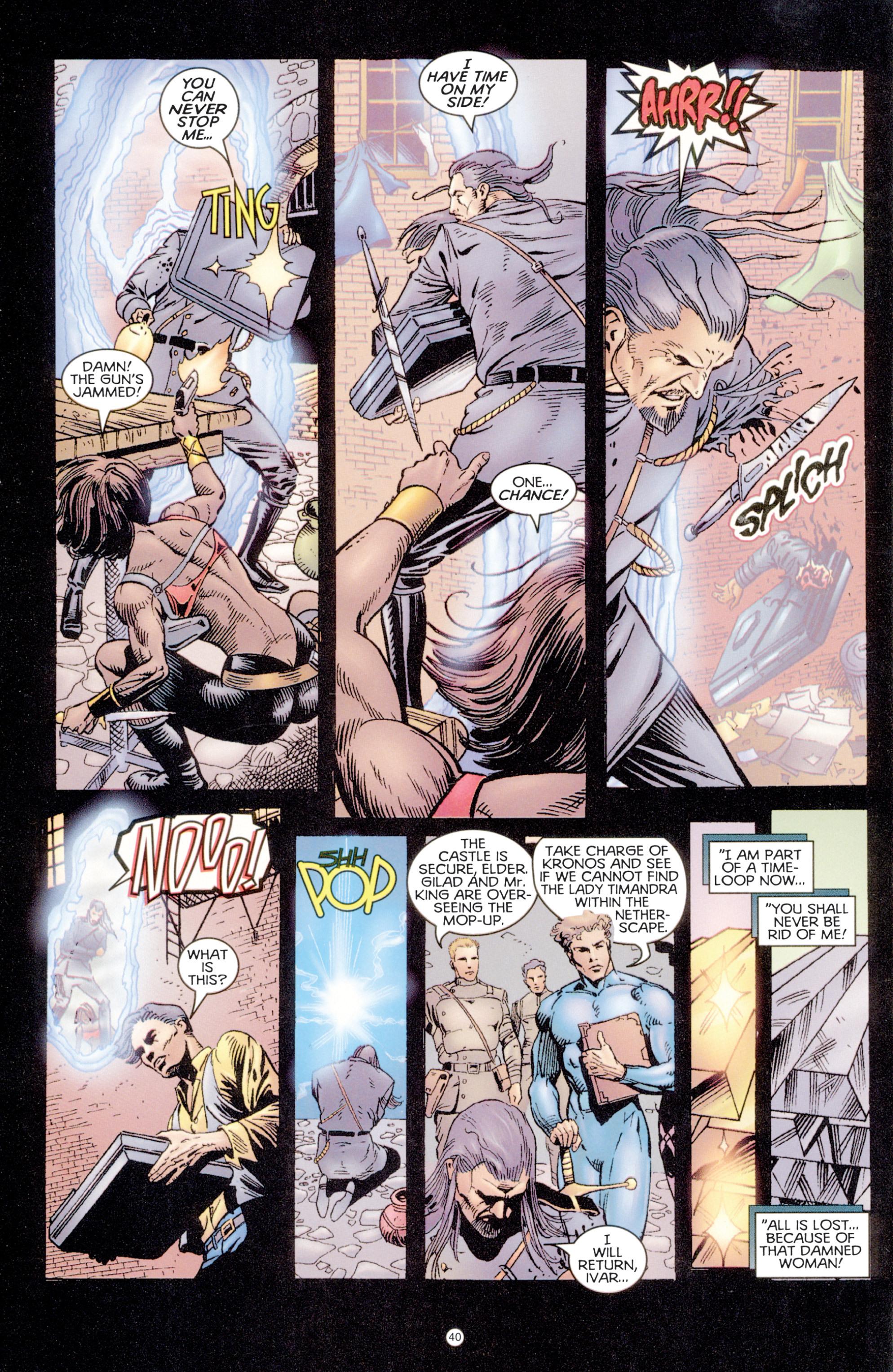 Read online Eternal Warriors comic -  Issue # Issue Digital Alchemy - 37