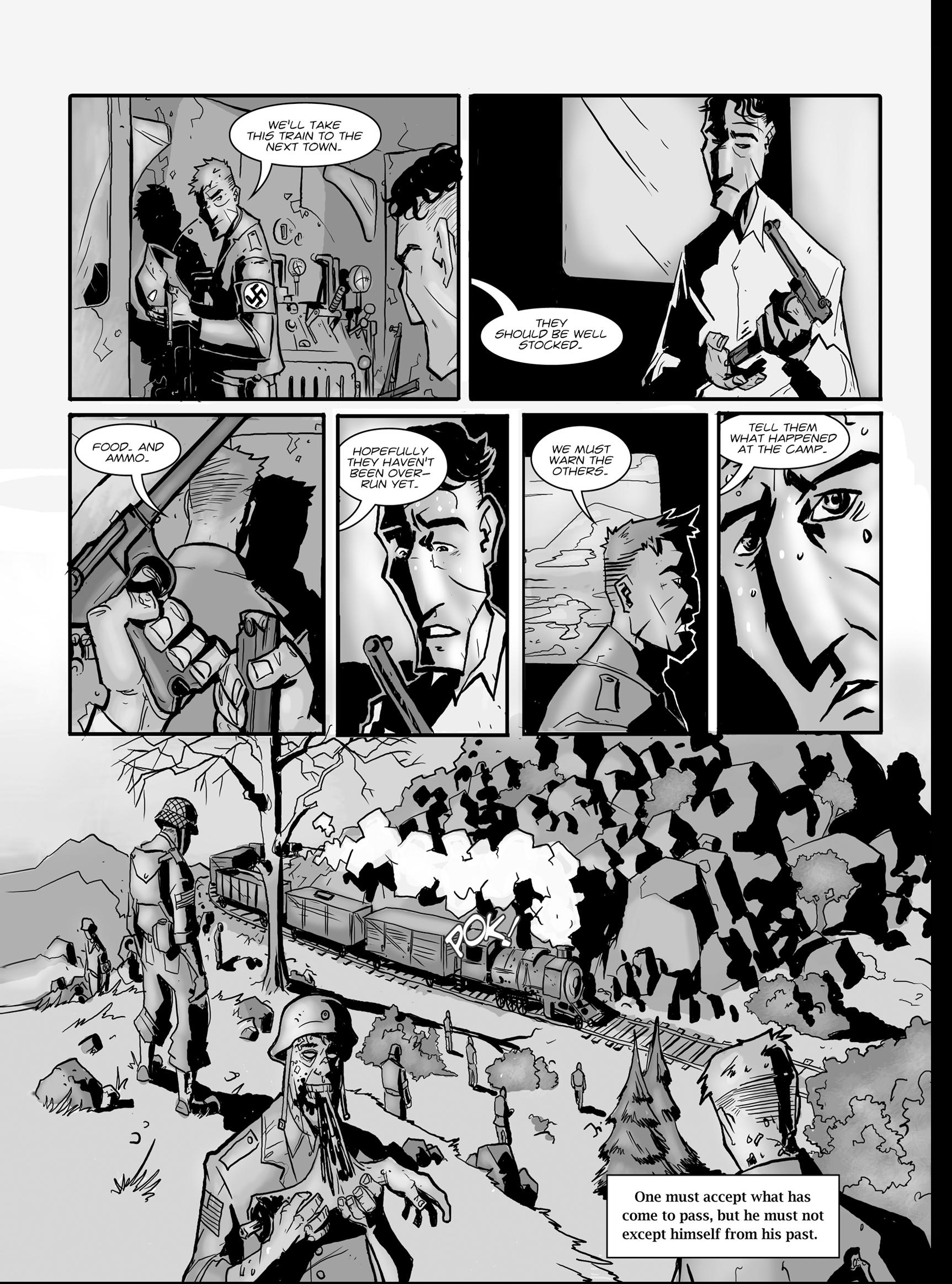 Read online FUBAR comic -  Issue #1 - 21