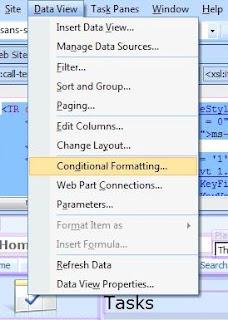 infopath conditional formatting