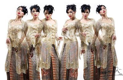 Model Baju Batik Kebaya Modern Unik
