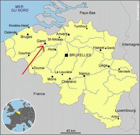 Carte Belgique Gent.Experience Et Caetera Ce Sera Gand