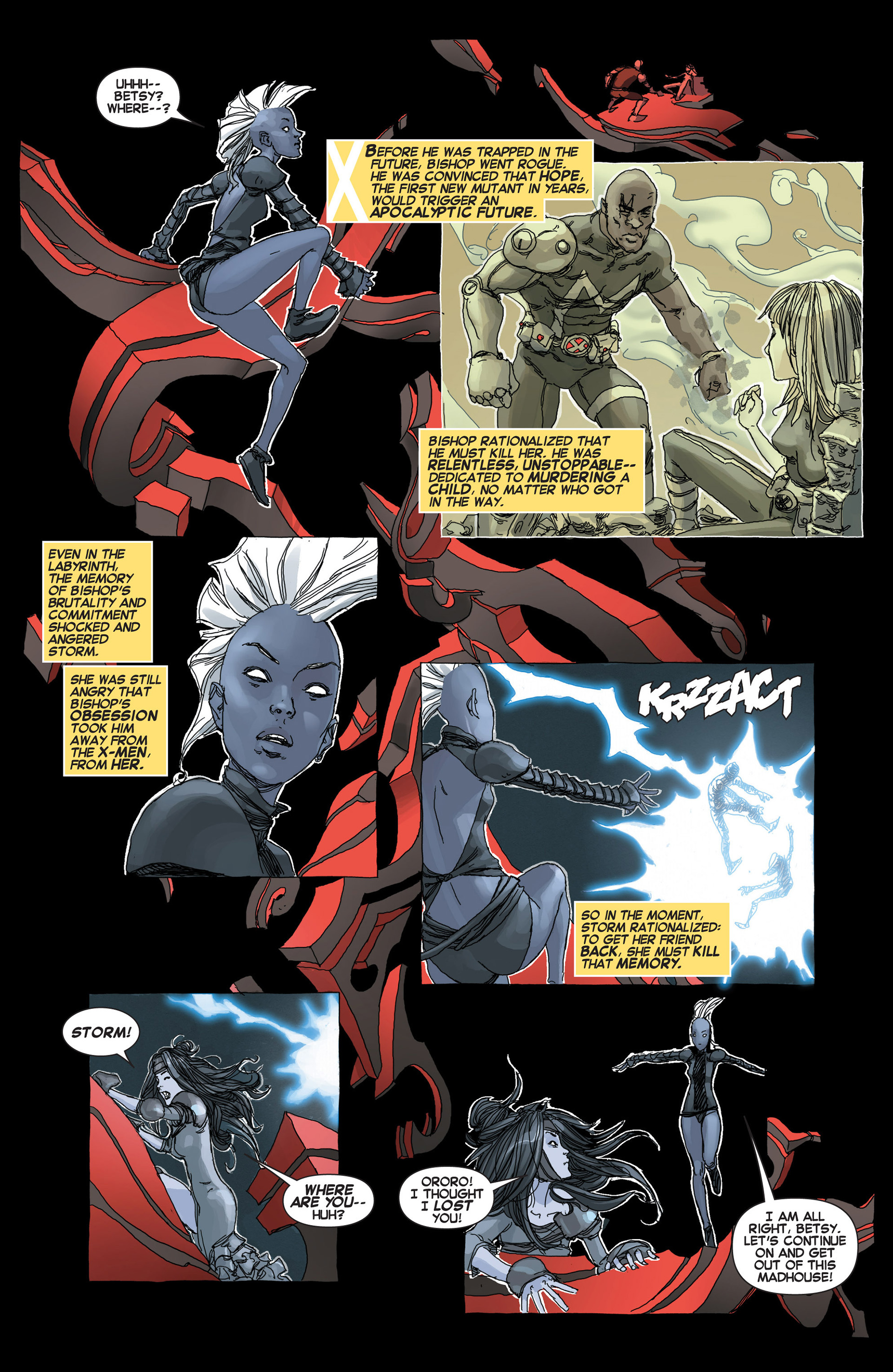 Read online Uncanny X-Force (2013) comic -  Issue #5 - 12