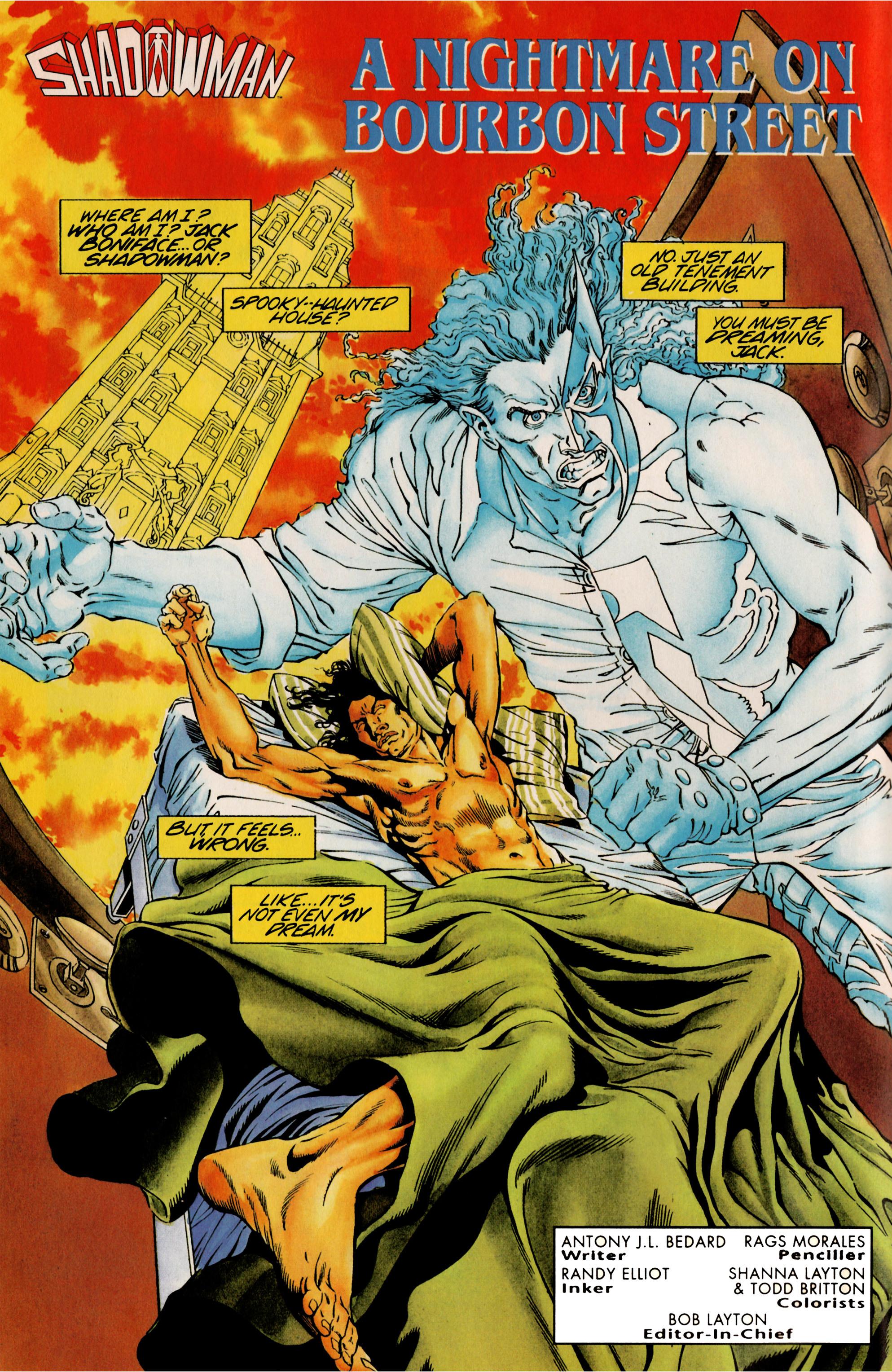 Read online Shadowman (1992) comic -  Issue #25 - 3