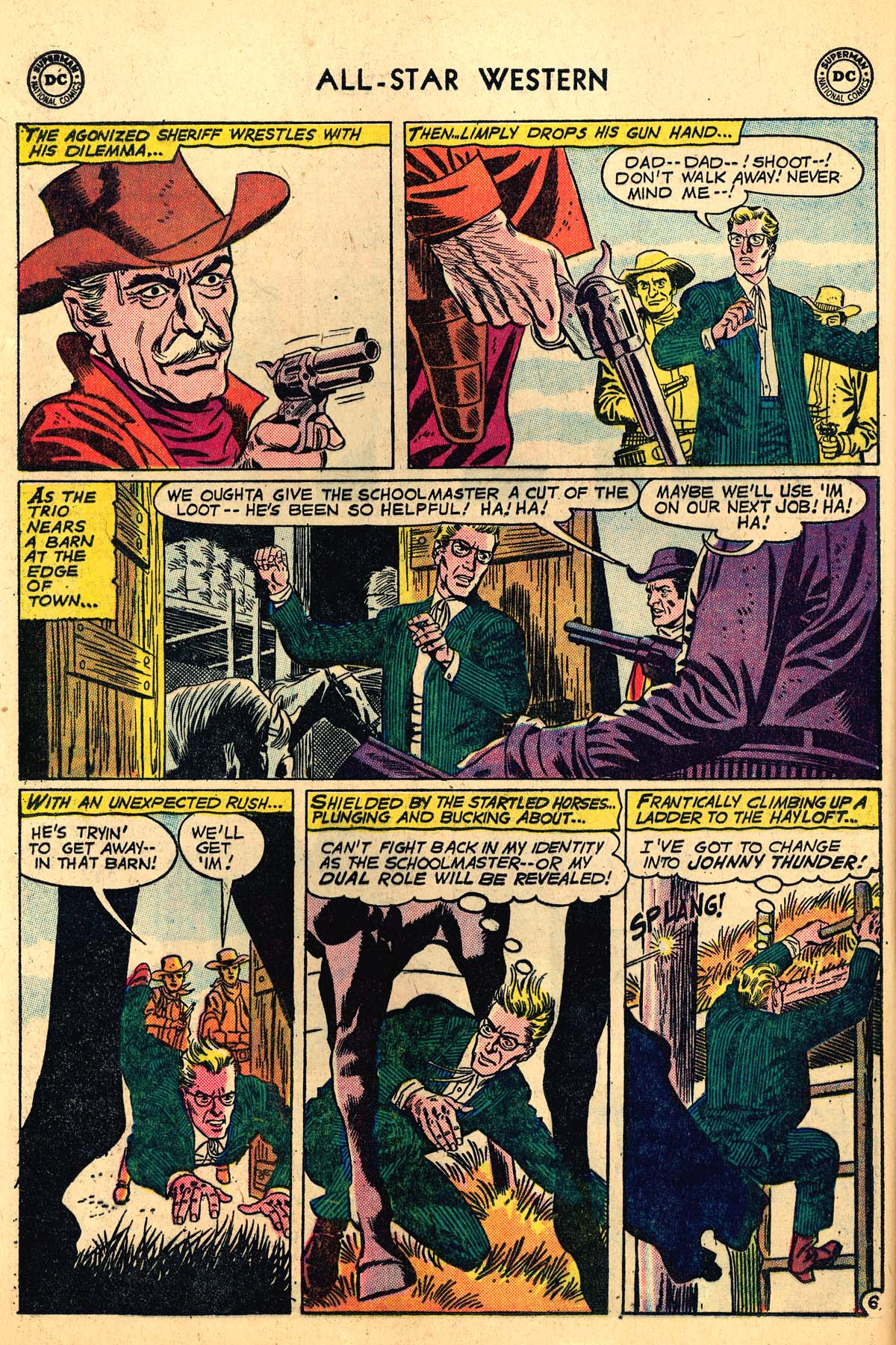 Read online All-Star Western (1951) comic -  Issue #110 - 8
