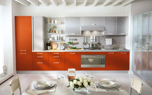 If You Are Feeling Daring And Little Citric Why Not Add A Touch Of Orange To Your Kitchen Or Even Remodel With Units