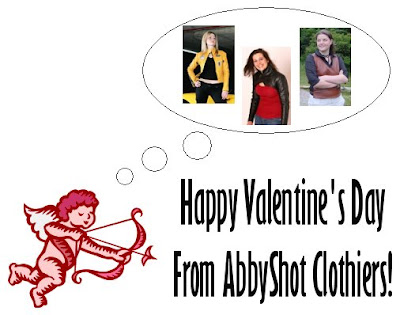 Cupid (and AbbyShot) are wishing you an excellent Valentine's Day!