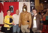 The Rocketeer visits the AbbyShot Crew