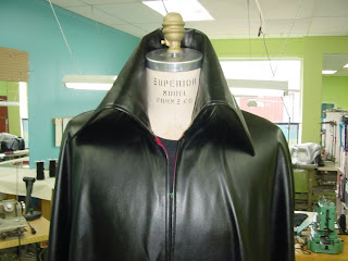 AbbyShot Cloak with Wide Collar